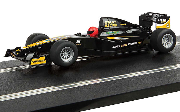 SCALEXTRIC-C4113 Future Release Start F1 Racing Car G Force Racing