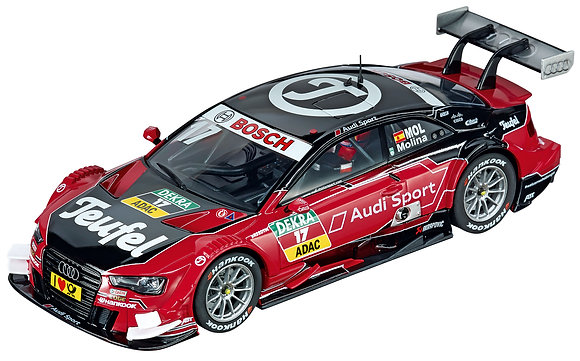 """CARRERA 30741 Digital Audi A5 DTM """"M. Molina, No. 17"""""""