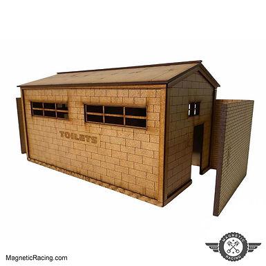 MAGNETIC RACING-033b Toilet Block (Large) 1:32 Kit