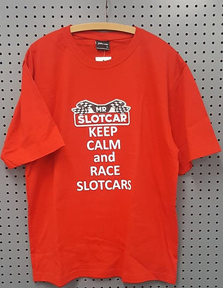 Mr Slotcar - Keep Calm T-Shirt