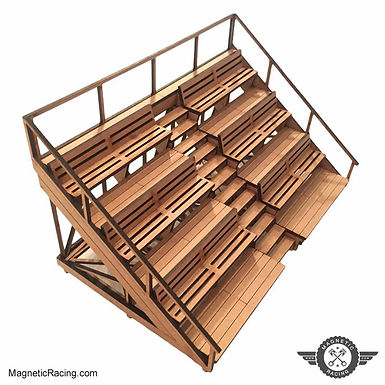 MAGNETIC RACING-012 Small Spectator Stand 1:32 scale Kit