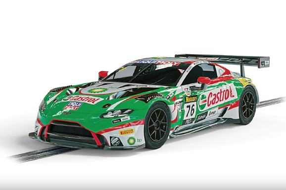 SCALEXTRIC-C4218 Future Release Aston Martin GT3 Vantage #76 (Aussie)
