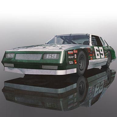 SCALEXTRIC-C3947 Chevrolet Monte Carlo 1986 Green #69