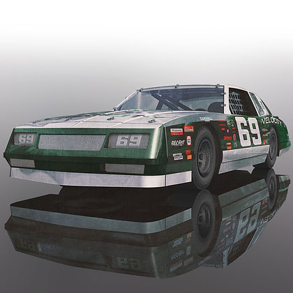SCALEXTRIC C3947 Chevrolet Monte Carlo 1986 Green #69