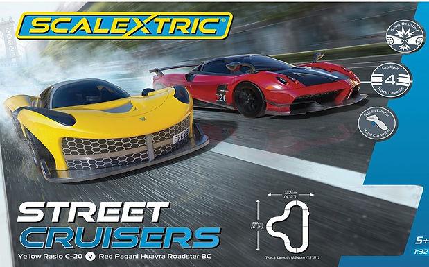 SCALEXTRIC-C1422 Future Release Street Cruisers Race Set