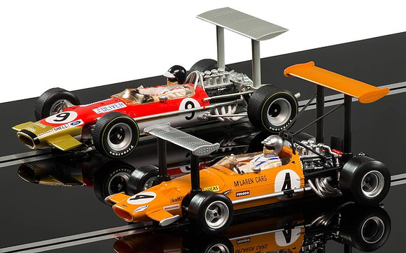 SCALEXTRIC C3544A McLaren M7C & Lotus Type 49B (Limited Edition)