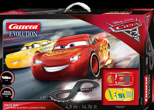 CARRERA-25226 Disney Pixar Cars Race Day Set 1/32