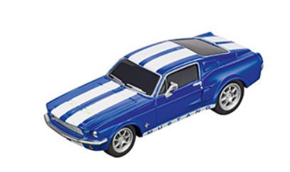 CARRERA GO!!! 64146 Ford Mustang '67 Racing Blue Future release