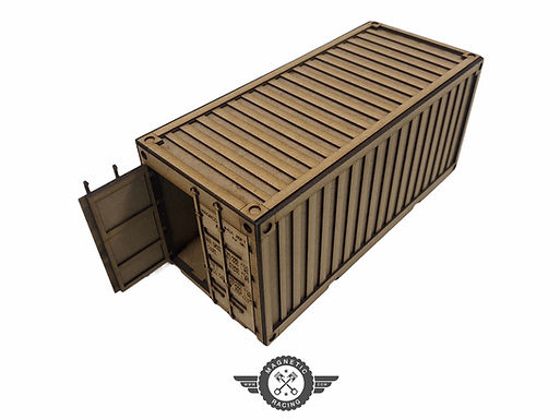 MAGNETIC RACING- 041S 20ft Container Small (no logo) 1:32 scale Kit