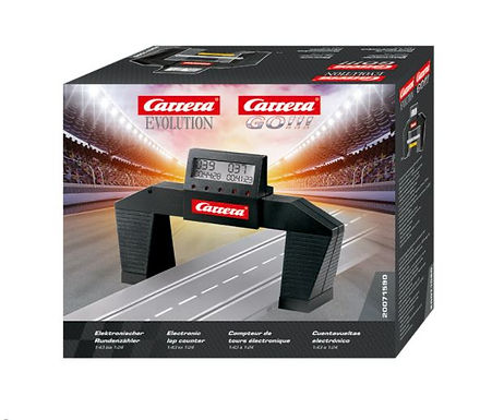 CARRERA-71590 CARRERA-Electronic Lap Counter Bridge for 1:32 & 1:43