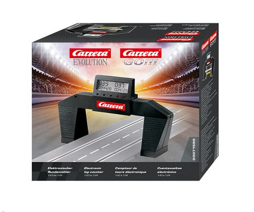 CARRERA 71590 Carrera Electronic Lap Counter Bridge for 1:32 & 1:43