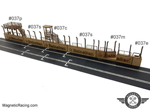 MAGNETIC RACING-037 Pit Wall Complete 1:32 Kit