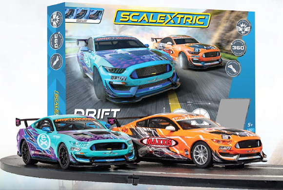 SCALEXTRIC-C1421 Future Release Drift 360 Race Set