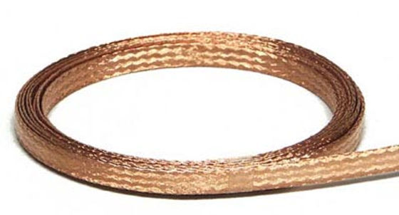 SLOT.IT-SP19 Tin Plated copper braid (1.0mt) 0.3mm Wide