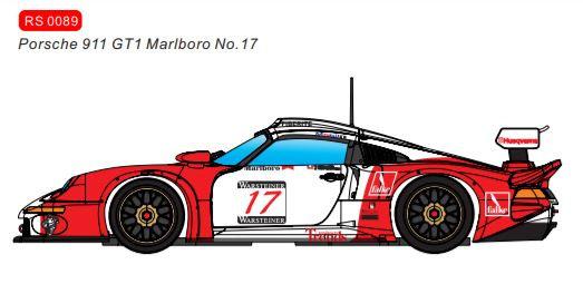 REVOSLOT-0089 Porsche 911 Future Release GT1 Marlboro #17