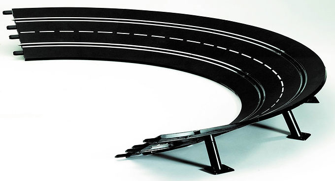CARRERA-20579 High Banked Curve Track 4/15 (12 Pce)