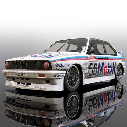 SCALEXTRIC C3929 BMW E30 Peter Brock Bathurst 1988 #56