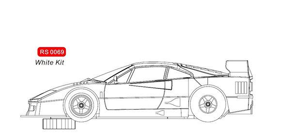 RevoSlot  0069 Ferrari F40 White Kit