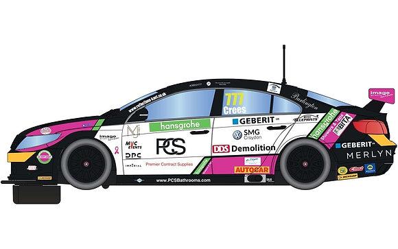 SCALEXTRIC-C4174 VW CC Team Hard - BTCC 2019 - Michael Crees