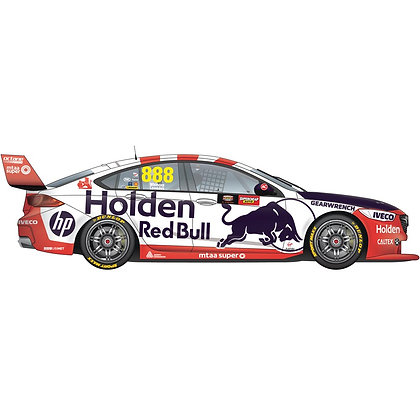 SCALEXTRIC C4196 HOLDEN ZB SUPERCAR Whincup Lowndes 888