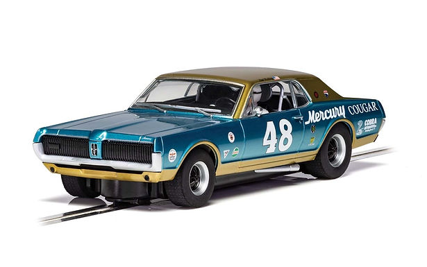 SCALEXTRIC-C4160 Mercury Cougar - NO. 48