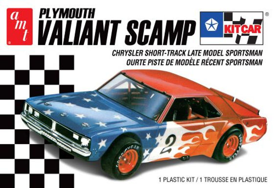 AMT-1171 1/25 Plymouth Valiant Scamp Car2T Plastic Kit