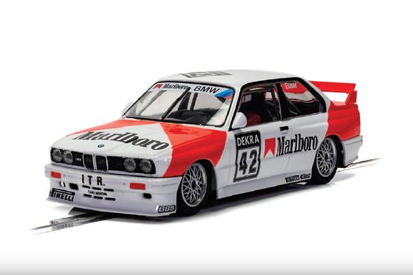 SCALEXTRIC-C4168 BMW E30 M3 #42 1991 DTM Cor Euser