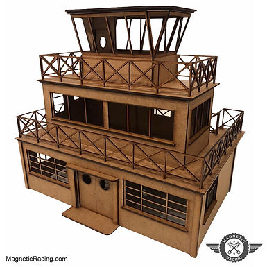 MAGNETIC RACING-013 Race Headquarters 1:32 scale Kit