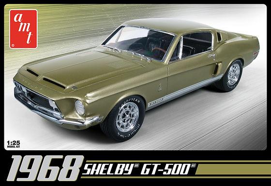 AMT-634 1968 SHELBY GT 500 1:25 SCALE MODEL KIT