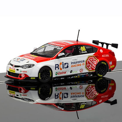 SCALEXTRIC C3863 BTCC MG6 No.66 Josh Cook