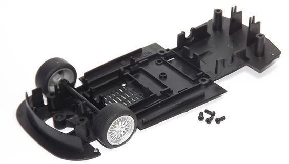 SCALEXTRIC W9035 Underpan Chassis with front Axle