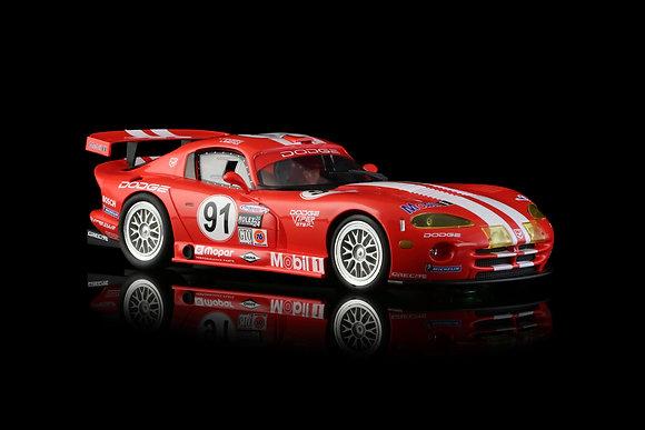 RevoSlot  0021  Dodge Viper GTS-R Team Oreca / Mobil 1 - Red No.91