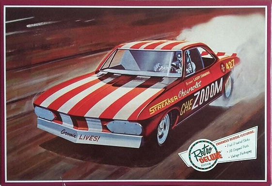 AMT 873 Chevy Corvair Funny Car 1:25
