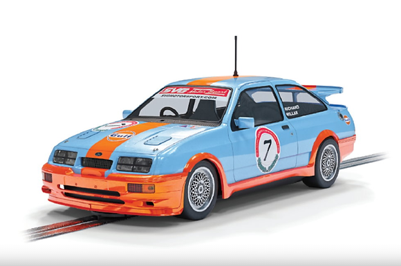 SCALEXTRIC-C4231 Future Release Ford Sierra RS500 #7 Gulf Edition Richard Millar