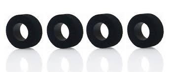 SLOT.IT PT1209SP30 4 x SP30 Compound sponge tyres - designed not to be glued.
