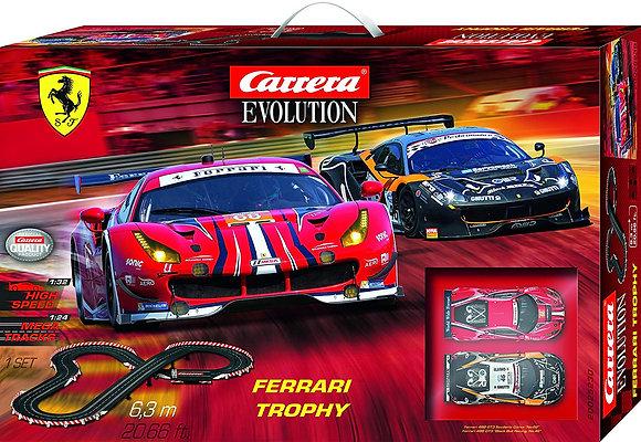 CARRERA 25230 Evo DTM Ferrari Trophy Set