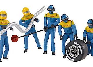 Carrera pit crew