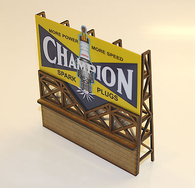 MAGNETIC RACING-BILL026 Flashing Champion 1:32 scale Kit