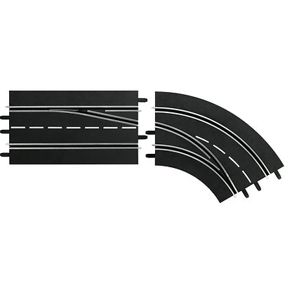 CARRERA-30365 Digital - Lane Change Curve Right - Out to In