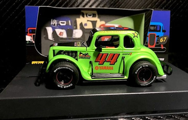 PIONEER-P082 Legends Racer Ford Coupe 1934 Hot Rod - green #44