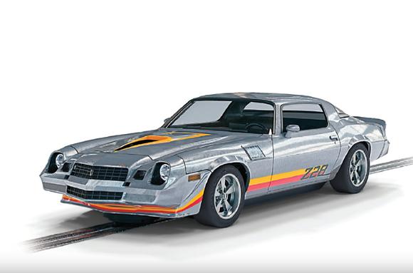 SCALEXTRIC-C4227 Future Release Chevrolet Camaro Z28 Silver Street