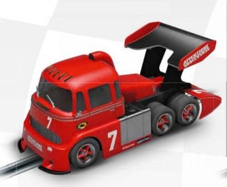 CARRERA-30988  Future Release Digital CARRERA-Race Truck Red #7