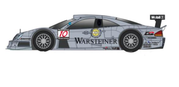 REVOSLOT-0093 Future Release Mercedes CLK D2 Black #10