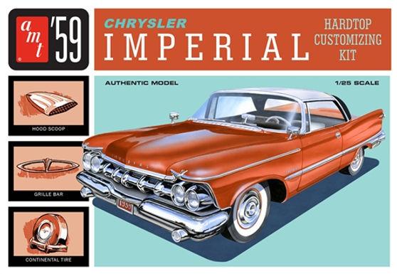 AMT-1136 1/25 Chrysler Imperial Plastic Kit