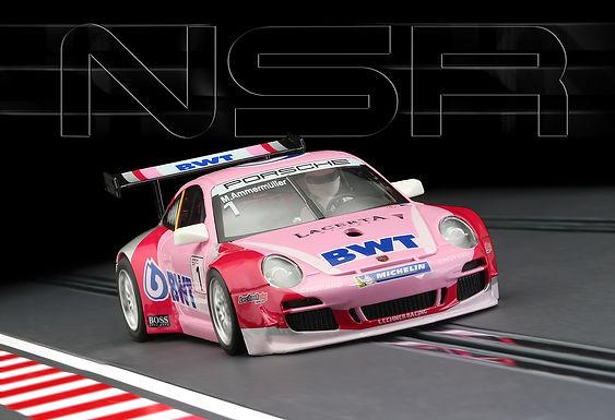 NSR-0187SW Future Release Porsche 997 Super Cup BWT Ammermüller - #1 livery