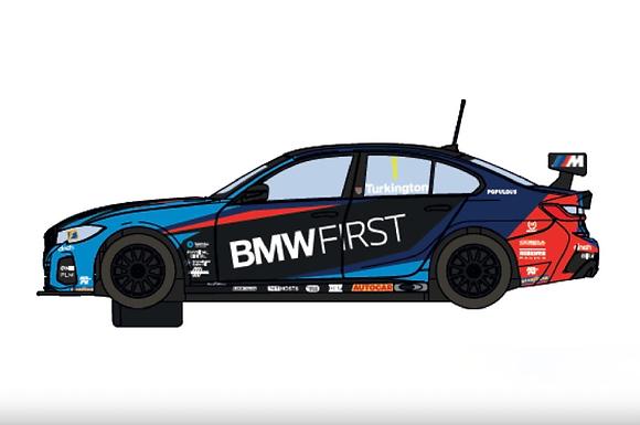 SCALEXTRIC-C4225 Future Release BMW 330i M-Sport #1 BTCC 2020