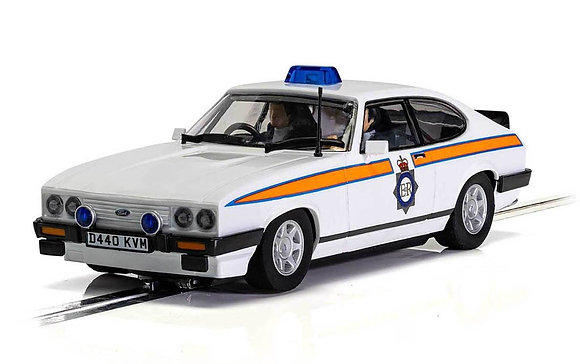 SCALEXTRIC Future Release C4153 FORD CAPRI MK3 - GREATER MANCHESTER POLICE