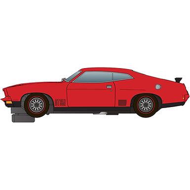 SCALEXTRIC-C4265 Future Release Ford XB Falcon Red Pepper