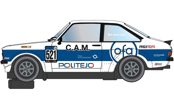 SCALEXTRIC Future Release C4150 FORD ESCORT MK2 RS2000 - GULF EDITION