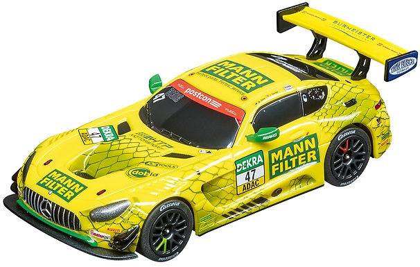 CARRERA GO!!!-64169 Mercedes-AMG GT3 - MANN-FILTER Team HTP, No.47